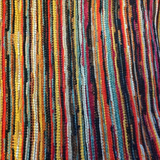 Multicolor Stripe Fabric by Jonathan Louis - 14 Yds - Image 1 of 3