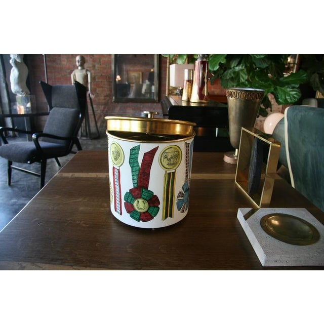 Piero Fornasetti Ice Bucket For Sale In Los Angeles - Image 6 of 8