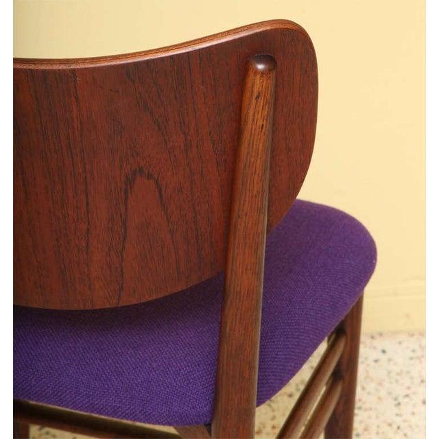 Slagelse Møbelværk Set of 4 Eva & Nils Koppel Mid-Century Modern Fumed Oak Dining Chairs For Sale - Image 4 of 8