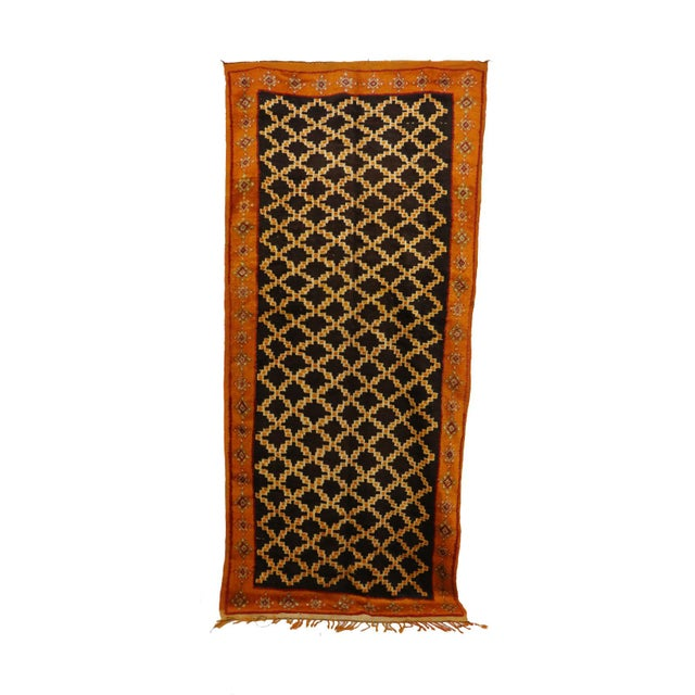 """Taznakht Moroccan Rug, 5'0"""" X 11'2"""" Feet For Sale - Image 6 of 6"""