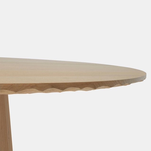Kaspar Hamacher Oak Dining Table by Kaspar Hamacher For Sale - Image 4 of 7
