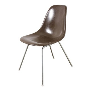 Charles and Ray Eames for Herman Miller Brown Shell Chair For Sale