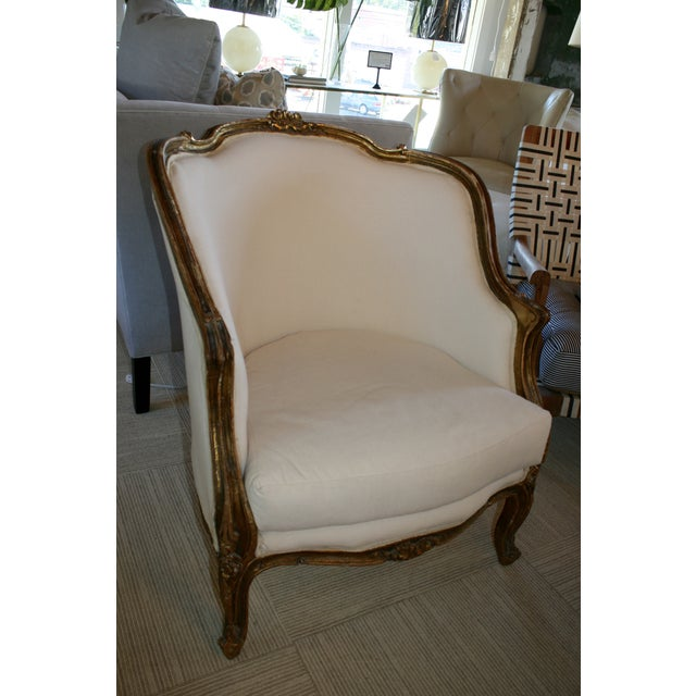 Vintage Bergere Chair - Image 3 of 6