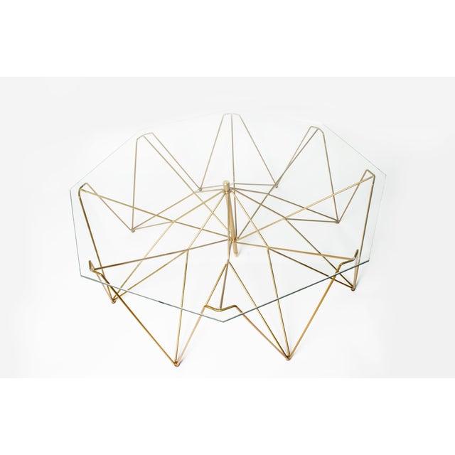 Sculptural Metal Coffee Table - Image 3 of 4