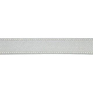 Sample, Scalamandre Montauk Herringbone Tape, Mineral Fabric For Sale