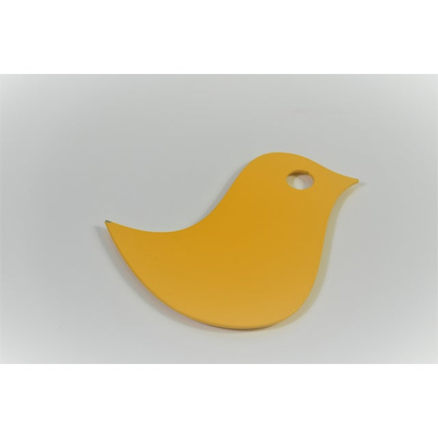 Metal Fermob Bird Trivet in Honey For Sale - Image 7 of 7