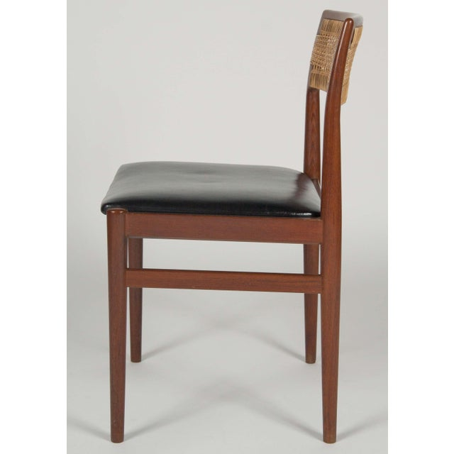 Mid 20th Century Model W26 Teak Chairs by Erik Worts - Set of 4 For Sale - Image 5 of 12