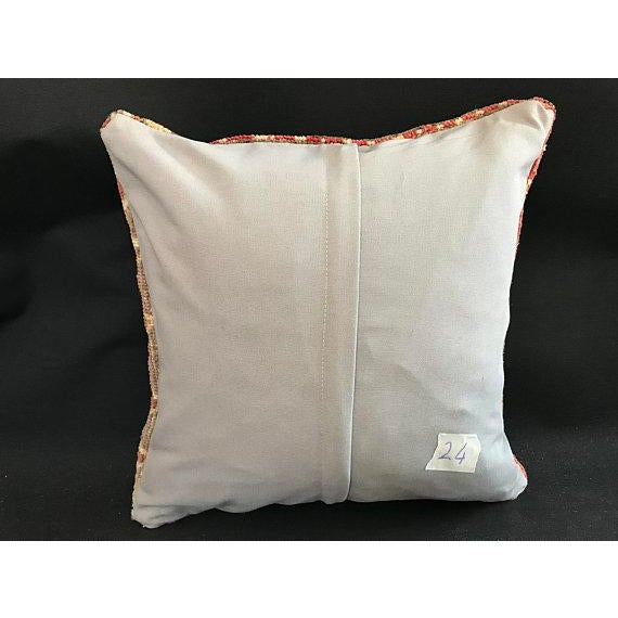 Oushak Peach Pillow Case For Sale - Image 4 of 10