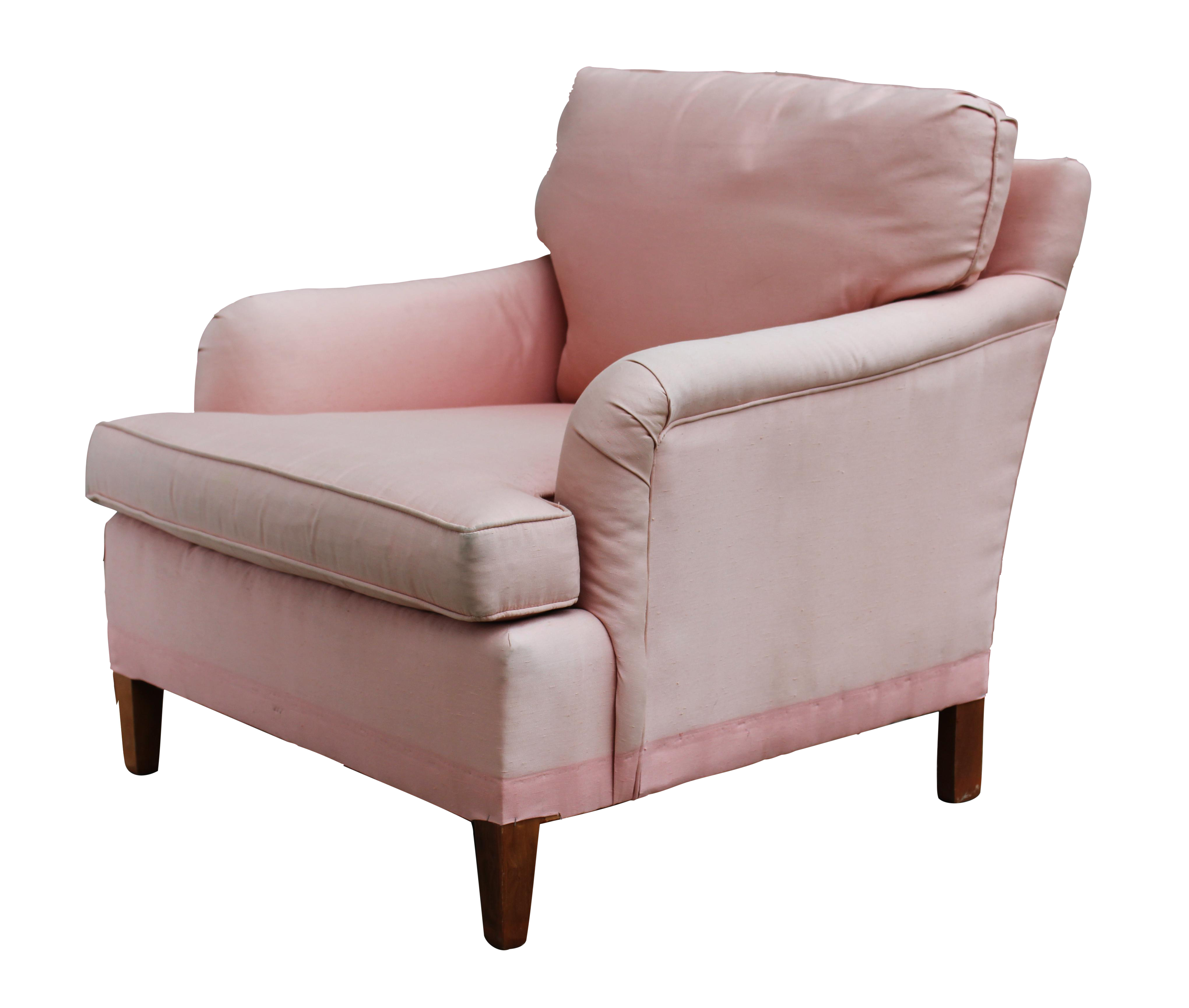 Hickory Fry English Roll Arm Chair