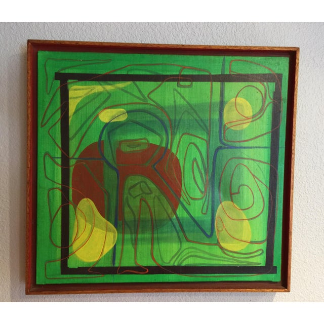 Mid-Century Modern Barbara Blume Abstract Painting - Image 2 of 8