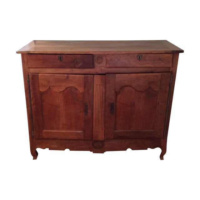 Antique French Dining Hutch - Image 1 of 7