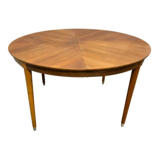 Mid-Century Modern B P John Wood Dining Table For Sale
