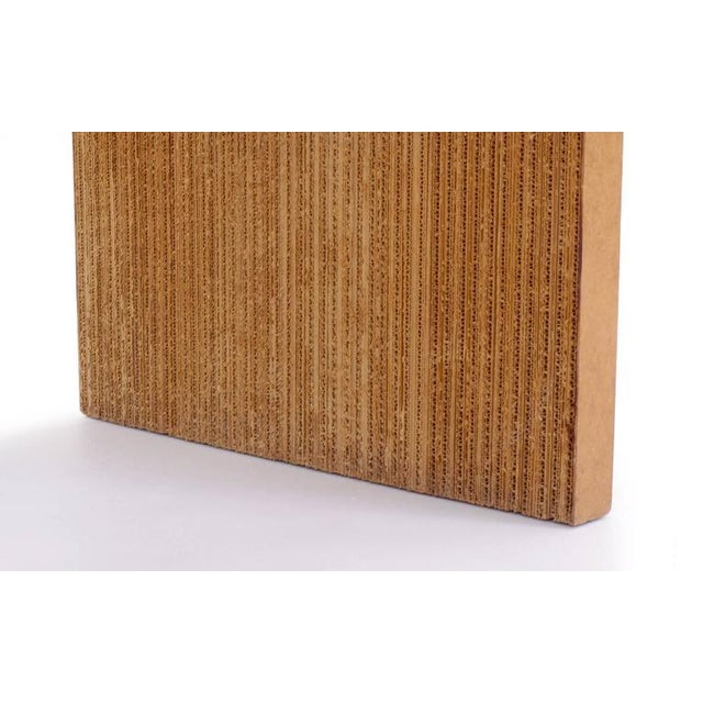 Paper Rare Frank Gehry Easy Edges Cardboard Desk in Excellent Condition For Sale - Image 7 of 8