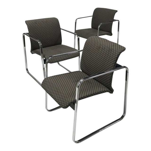 1970s Peter Protzman for Herman Miller Armchairs - Set of 3 For Sale