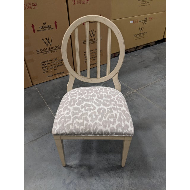 Modern Oval Back Dining Chair For Sale In Greensboro - Image 6 of 6