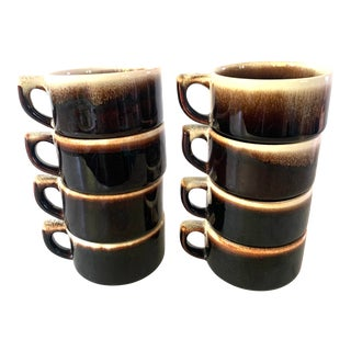 Set of 8 Vintage Pfalzgraff Cups For Sale