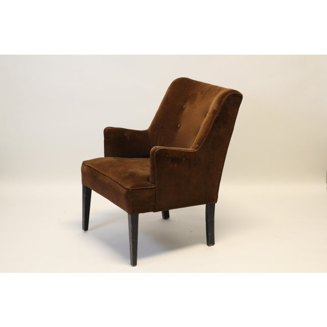 Mid-Century Modern Mid-Century Modern Arm Chairs - A Pair For Sale - Image 3 of 8