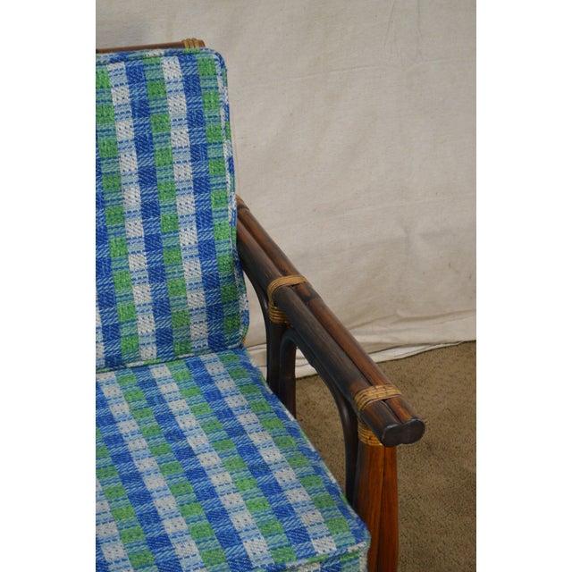 Ficks Reed Vintage Rattan Bamboo Frame Sofa (B) For Sale In Philadelphia - Image 6 of 13