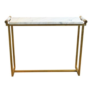 Hollywood Regency Bungalow 5 Diana Console Table For Sale