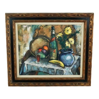 Framed Still Life Painting For Sale