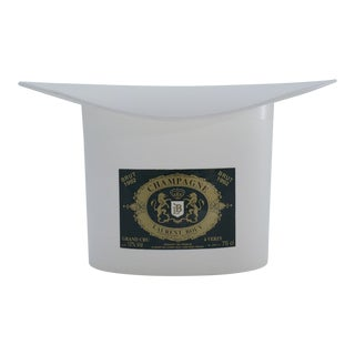 1990s Top Hat Champagne Ice Bucket for Laurent Bouy, French For Sale