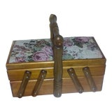 Image of 1970s Vintage Jewelry Box For Sale