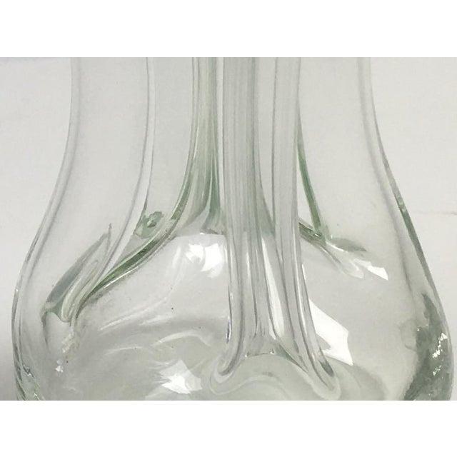Danish Modern Holmegaard Glass Decanter Set - Pair - Image 4 of 6