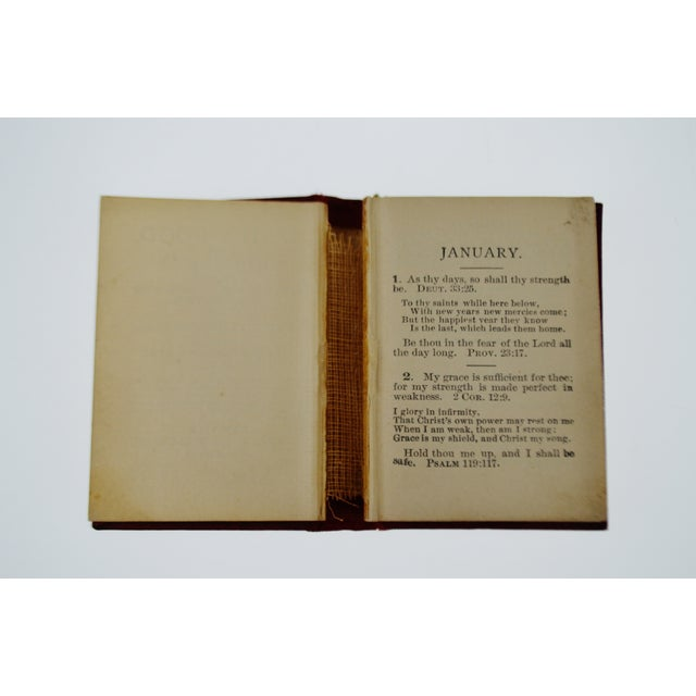 1800's Daily Food for Christians Daily Devotional Book - Image 4 of 10