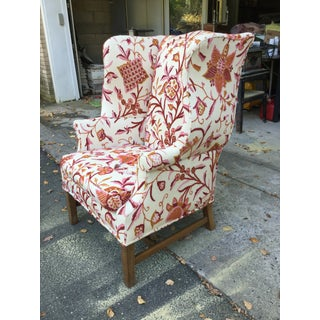 Vintage English Armchair W/Crewel Preview
