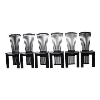 Mid 20th Century Pietro Costantini Designer Chairs - Set of 6 For Sale