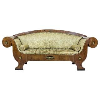 Biedermeier Sofa Circa 1860 For Sale