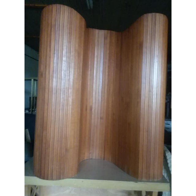 Pine French Slatted Wood Room Divider For Sale - Image 7 of 8