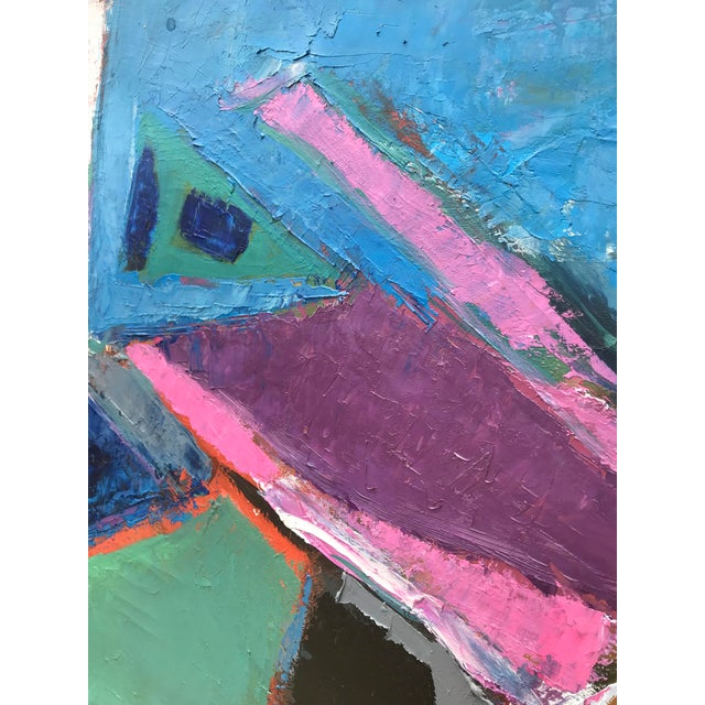 Sublime Modern Abstract Painting For Sale - Image 6 of 13