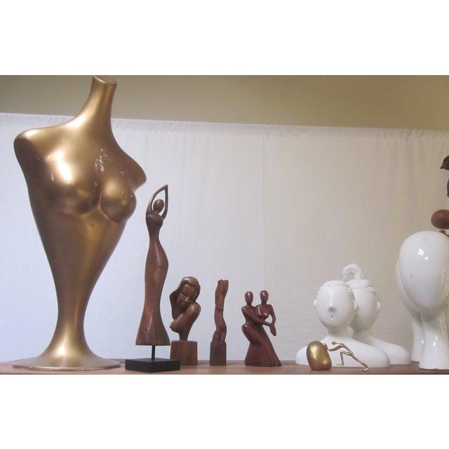 Modernist Fiberglass Mannequin Tulip Base - Image 5 of 11