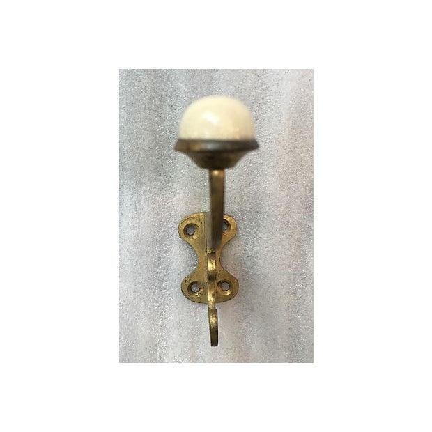 French Art Nouveau Clothing Hooks - S/6 - Image 6 of 7