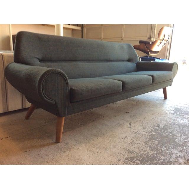 Kurt Ostervig Rare Kurt Ostervig Ryesberg Mobler Danish Sofa For Sale - Image 4 of 10