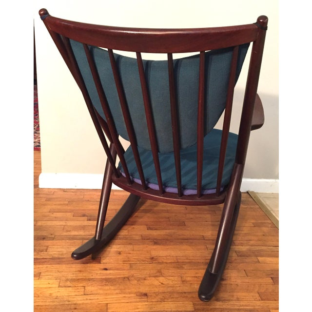 Bramin Mobler Frank Reenskaug Rocking Chair - Image 5 of 11