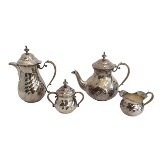 Purity Italian Silver Tea Service - Set of 4