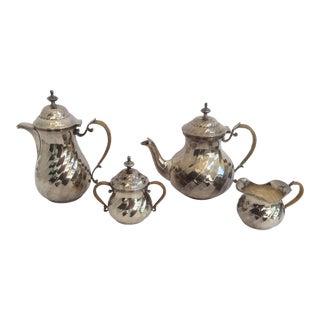 Purity Italian Silver Tea Service - Set of 4 For Sale