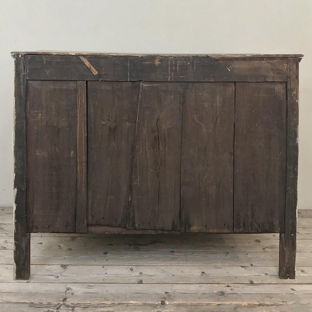 18th Century Country French Stripped Oak Commode For Sale - Image 12 of 13