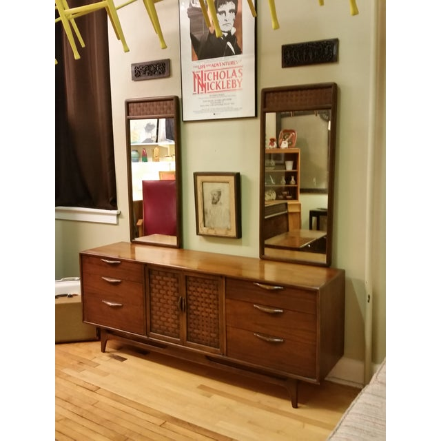 "Warren Church for Lane ""Perception "" Dresser With Mirrors - Image 2 of 9"