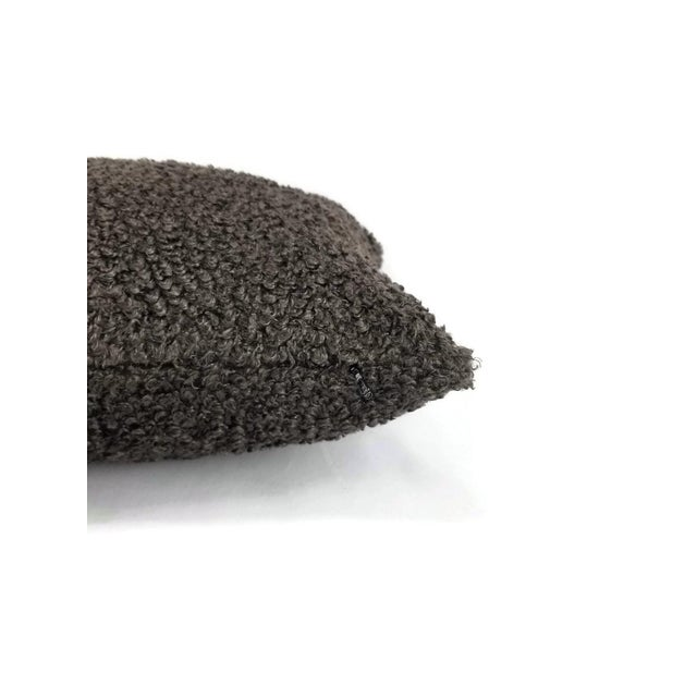 From Cowtan and Tout is Shearling in the color mink pillow cover. This pillow has a shaggy animal fur-like fabric in a...