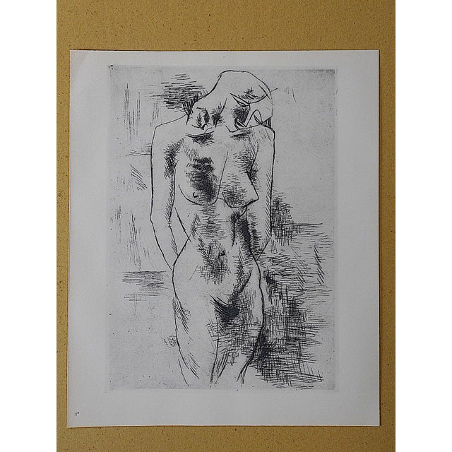 Vintage Lithograph Nude by Georges Braque - Image 3 of 3