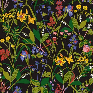 Ros Och Lilja Wallpaper by Borastapeter Wallpaper - This Is a Sample For Sale