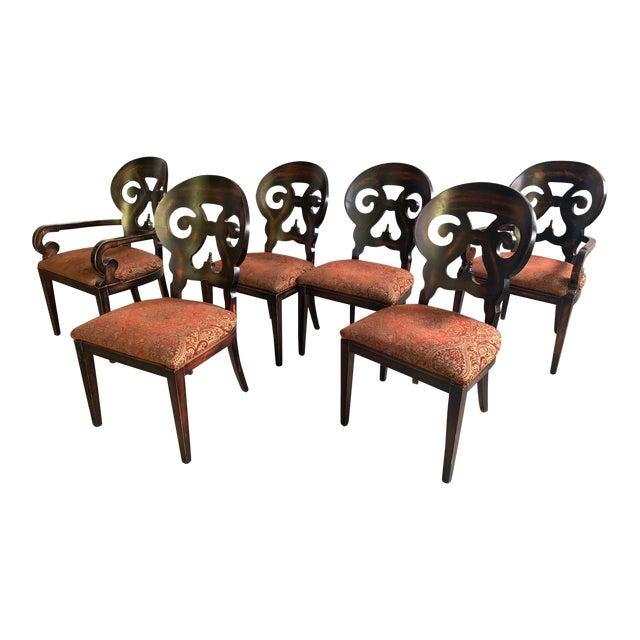 "Set of Six Arhaus ""Jordan"" Dining Chairs For Sale"
