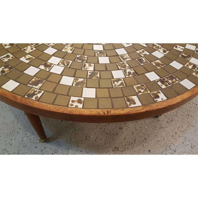 1960s Martz Mosaic Tile Coffee Table For Sale - Image 5 of 7
