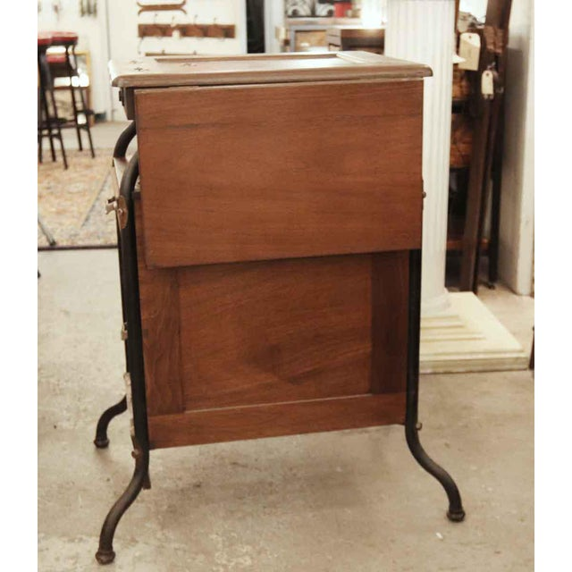 1920s 1920's Vintage Gestetner Duplicator Machine Wooden Cabinet For Sale - Image 5 of 9
