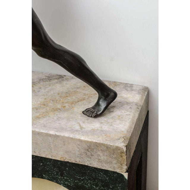 Bronze Sculpture of the Borghese Gladiator - Image 7 of 10