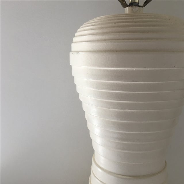 Modern Pleated Lamp - Image 4 of 7