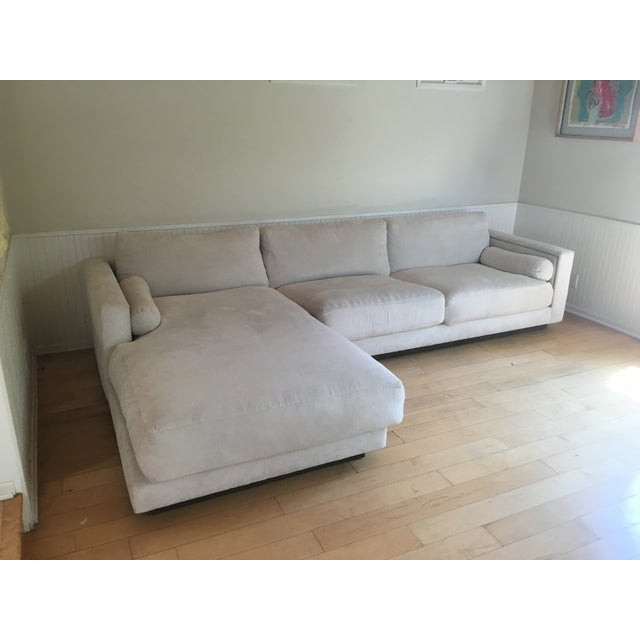 Off White Sectional Sofa - Image 2 of 9
